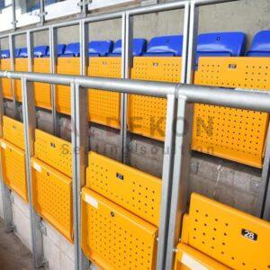 Amusu Katlanir Metal Stadyum Koltuk